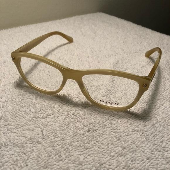 2878fd0f2381 Coach Accessories - Coach Ivory Horn Eyeglasses